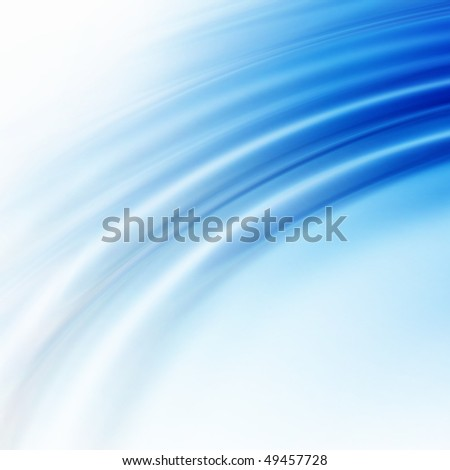blue ripples bacground - stock photo