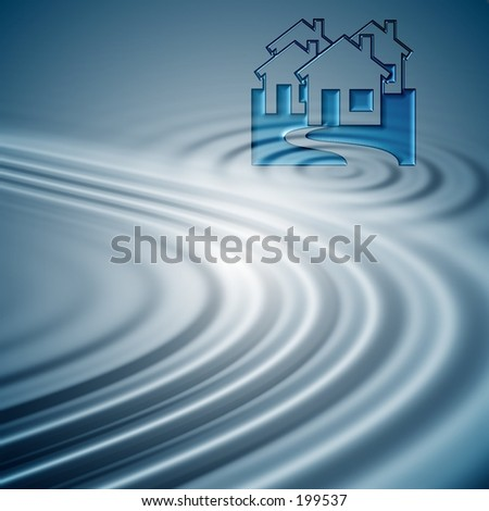 Blue ripples background for aqua design set.Look for more matching elements in my gallery . - stock photo