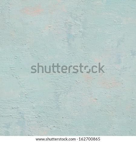 blue rough wall - stock photo