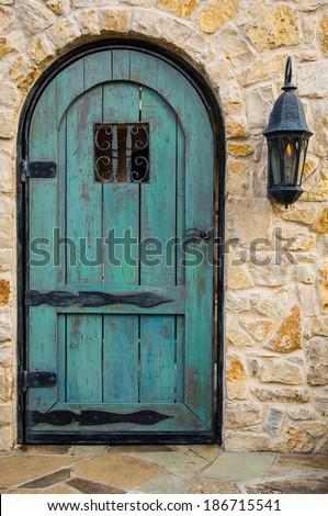 Blue Rustic Door & Rustic Door Stock Images Royalty-Free Images u0026 Vectors | Shutterstock pezcame.com
