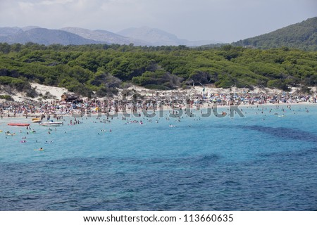 blue sea andpanorama blue sky holidays vacation summer meditteranean