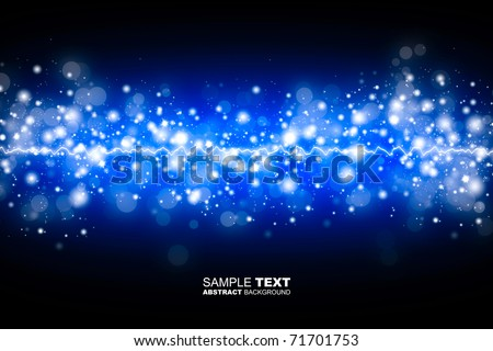 Blue shine background
