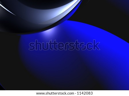blue&silver background (abstract) 01 - stock photo