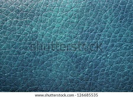 Blue skin texture - stock photo