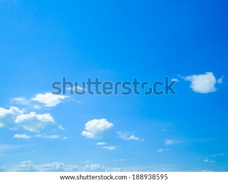blue sky abstract background - stock photo