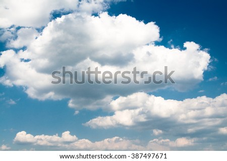 blue sky and some clouds