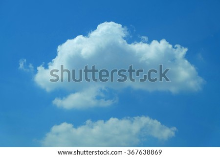 blue sky background with a clouds