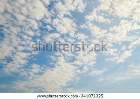 blue sky cloud