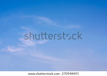 blue sky with cloud closeup background. - stock photo