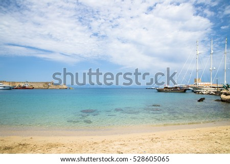 Blue sky with cloud in summer -natural background