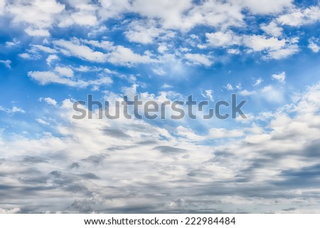 Blue sky clouds background hdr image stock photo 100 legal blue sky with clouds background hdr image thecheapjerseys Gallery