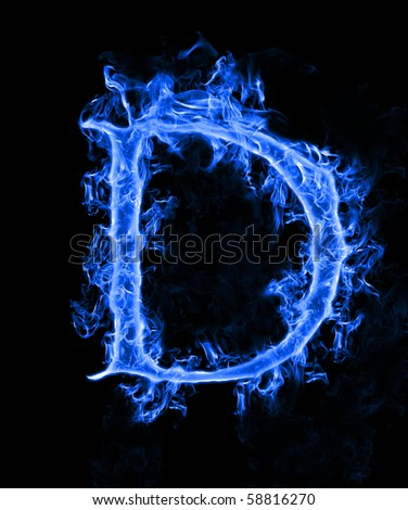 blue smoke letter d stock photo 58816270 - shutterstock