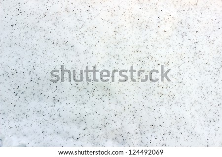 blue snow in the background - stock photo