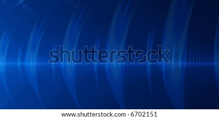 Blue sound wave abstract background.  A feeling of communication.