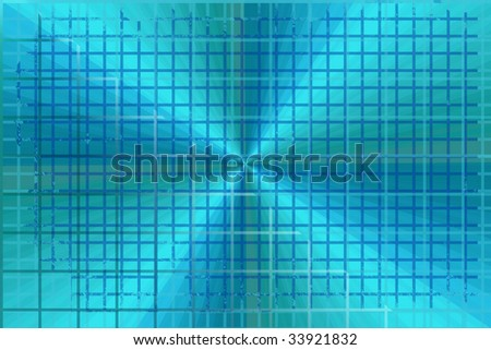 Blue Spectrum Grid