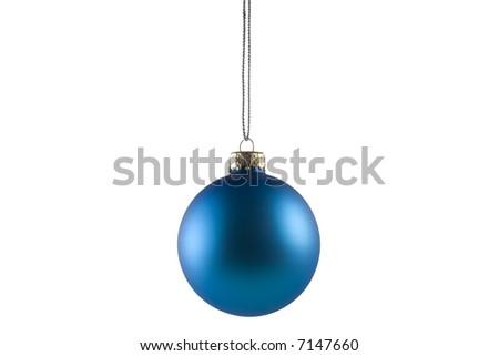 Blue sphere - stock photo