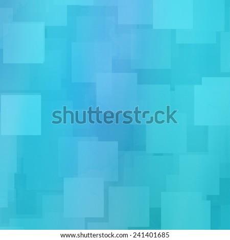 blue square background - stock photo
