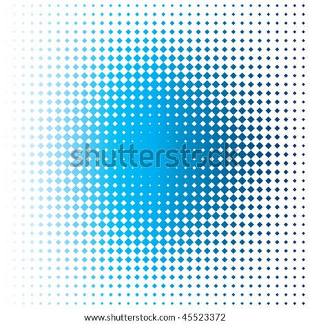 blue stain - stock photo