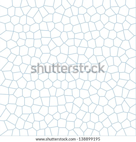 Blue stained glass texture. Design and art concept. Abstract background - stock photo
