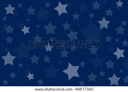 blue star background for a child - baby boy pattern