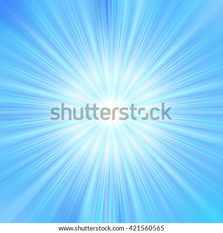 Blue star burst starburst twirl bright white light decorative stylish fascinating background backdrop