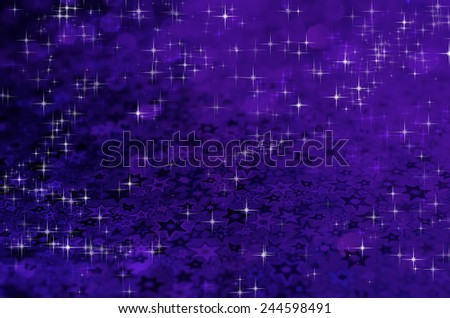 blue star on blurred background - stock photo
