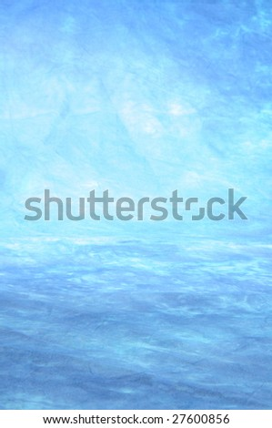 blue studio background for different photo shots - stock photo