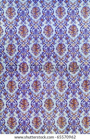 Blue style kanok - stock photo
