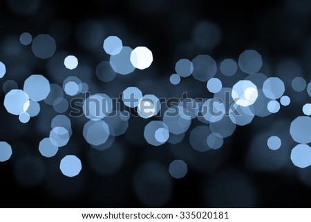 Blue technology abstract bokeh background - stock photo