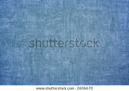 Blue texture of some rough and painted material. - stock photo