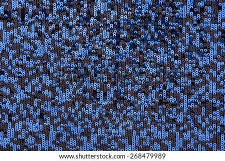 blue textured pattern fabric background - stock photo