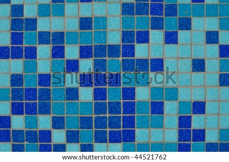 Blue Tile Background with open space for text