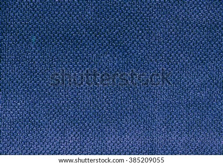 Blue towel texture. Background and texture. - stock photo