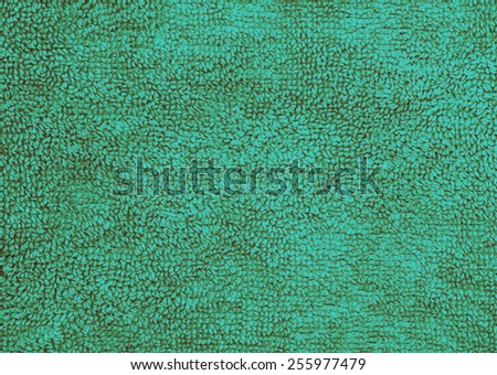 Blue towel texture background - classic effect