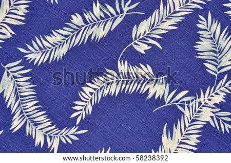 Blue Tropical background - stock photo