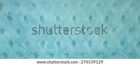 Blue velvet texture and background decoration. - stock photo