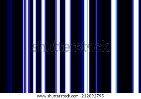 Blue Vertical Neon Striped Background - stock photo