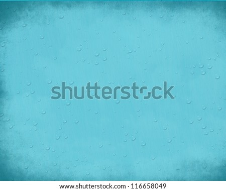 Blue vintage grunge background with place for your text or design - stock photo