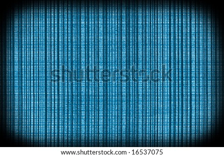 Blue vintage textured wallpaper template - stock photo