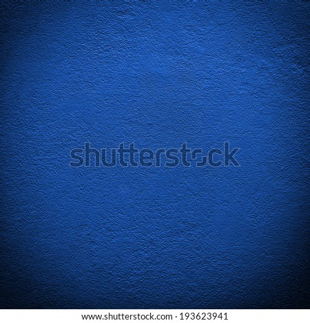 blue wall background or texture - stock photo