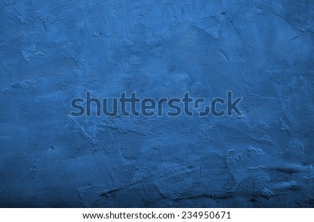 blue wall background with vignette