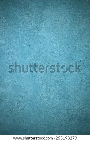 blue wall texture grunge background - stock photo