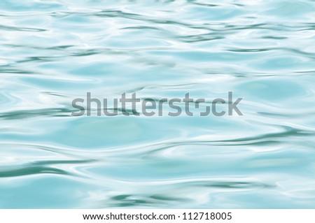 Blue water pattern - stock photo