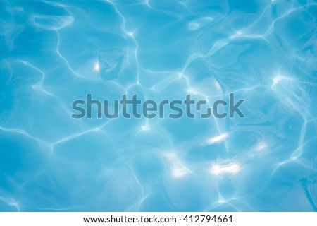 blue water surface background texture, Abstract - stock photo
