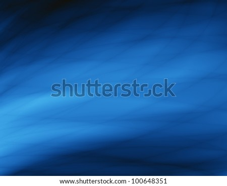 Blue wave abstract texture - stock photo