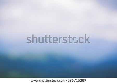 Blue wavy abstract gradient background texture. Place for text. - stock photo