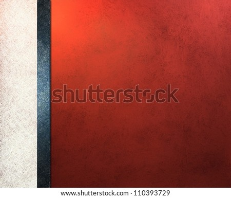 blue white and red background patriotic colors for use as election voting background template design of vintage grunge background texture illustration for 4th of July brochure or web template side bar - stock photo