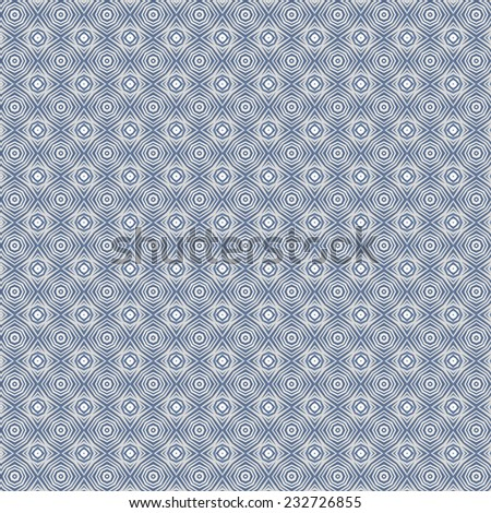 blue winter abstract snowflakes pattern