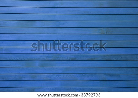 Blue wood panel background