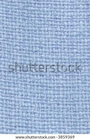Blue Wool Pattern - stock photo
